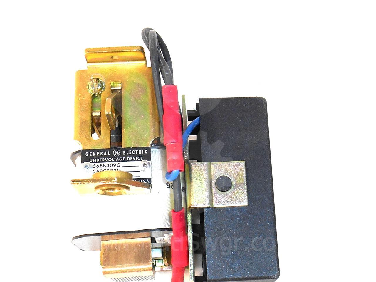 GE 120VAC UNDER VOLTAGE (UV) TRIP MODULE, INST